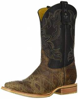 Tin Haul Schuhe Herren What's Your Angle Westernstiefel, Beige (hautfarben), 39.5 EU von Tin Haul Shoes