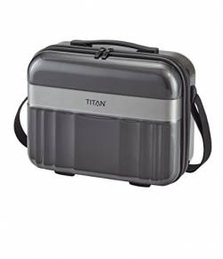 TITAN Spotlight Flash Beautycase 831702-04 Koffer, 21.0 Liter, Anthrazit von Titan