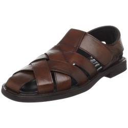 To Boot New York Herren Cayman Fisherman Sandalen, Braun (Cognac), 39.5 EU von To Boot New York