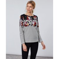 Tom Joule Women Harbour Bedrucktes   Langärmliges Jersey Top  - von Tom Joule