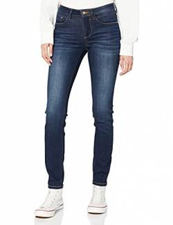 TOM TAILOR Damen Jeanshosen Alexa Skinny Jeans  Dark Stone wash Denim,26/32 von TOM TAILOR