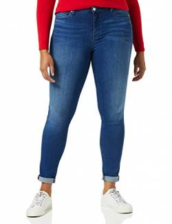 Tommy Jeans Damen Nora MR SKNY NNMBS Jeans, New Niceville Mid Blue Stretch, W30 / L34 von Tommy Jeans