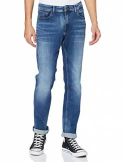Tommy Hilfiger Herren Scanton Slim DYJMB Jeans, Dynamic Jacob Mid Blue Stretch, 31 W/32 L von Tommy Hilfiger
