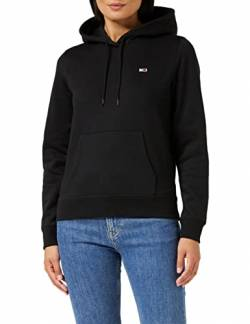 Tommy Jeans Damen TJW Regular Fleece Hoodie Pullover, Schwarz, XL von Tommy Jeans