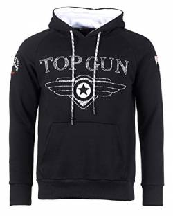 Top Gun Black Defend Hoodie (L) von Top Gun