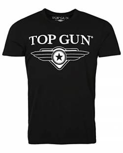 Top Gun Cloudy Black T-Shirts (M) von Top Gun
