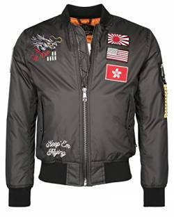 Top Gun Dragon Jacket Anthracite (M) von Top Gun