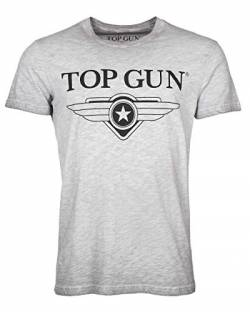 Top Gun T-Shirt Cloudy Grey Melange (3XL) von Top Gun