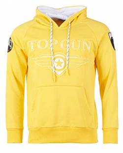 Top Gun Yellow Defend Hoodie (XXL) von Top Gun