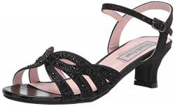 Touch Ups Women's Ankle Strap Sandal Heeled, Black, 9 von Touch Ups