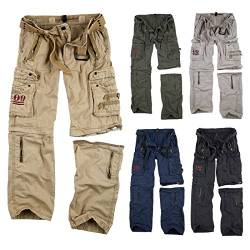 Trooper Royal Outback Trousers, Herren Cargo Hose, Royal Sahara XXL von Trooper