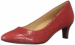Trotters Women's Fab Pump, red, 9.5 N US von Trotters