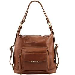Tuscany Leather TLBag Schultertasche aus Kalbsleder Cinnamon von Tuscany Leather