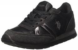 U.S.POLO ASSN. Damen Riste Vogue Low-top, Schwarz (Nero BLK), 37 EU von U.S.POLO ASSN.