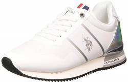 US Polo Association Damen Ambra1 Gymnastikschuhe, Weiß (WHI 001), 39 EU von U.S.POLO ASSN.