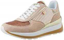 US Polo Association Damen Valery3 Paillettes Gymnastikschuhe, Pink (Nude 055), 37 EU von U.S.POLO ASSN.