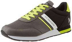 US Polo Association Herren Brandon Gymnastikschuhe, Mehrfarbig (Grey/Blk 031), 41 EU von U.S.POLO ASSN.