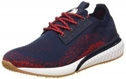 US Polo Association Herren Elser2 Gymnastikschuhe, Mehrfarbig (Dk Bl/Red 011), 43 EU von U.S.POLO ASSN.