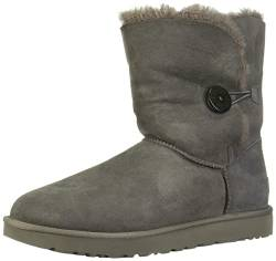 UGG Bailey Button Ii Grey Damen Schlupfstiefel, Grau (Gray), 41 EU (8.5 UK) von UGG