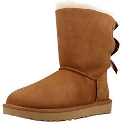 UGG Female Bailey Bow II Classic Boot, Chestnut, 4 (UK) von UGG