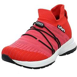 UYN Damen Lady Free Flow Tune Shoes Laufschuhe, Rosa orange, 42 EU von UYN