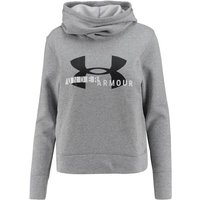 UNDERARMOUR Damen Sweatshirt Cotton Fleece Sportstyle Logo Hoody von Under Armour