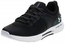 Under Armour Herren UA HOVR Rise Hallenschuhe, Schwarz (Black/White/White 001), 44.5 EU von Under Armour