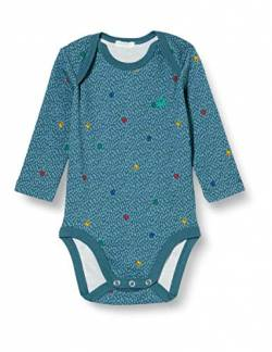 United Colors of Benetton (Z6ERJ Baby-Jungen Body Tunika zum Stillen, Blu 60j, 68 cm von United Colors of Benetton
