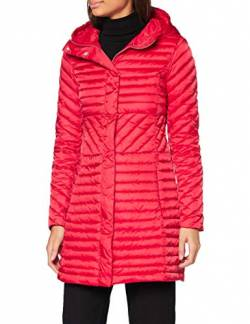 United Colors of Benetton Damen 2ANW53633 Ben Basic Woman Mittlere Daunenjacke, Red 015, 36 von United Colors of Benetton