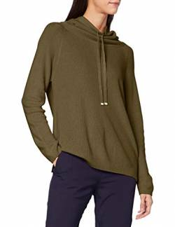 United Colors of Benetton Damen Maglia Lupetto M/l Pullover, Burnt Olive 22y, L von United Colors of Benetton