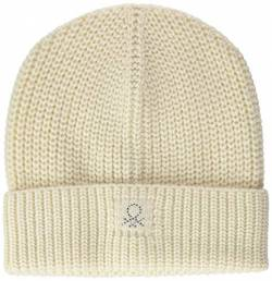 United Colors of Benetton (Z6ERJ) Mädchen Berretto Beanie-Mütze, Weiß 600, S von United Colors of Benetton (Z6ERJ)