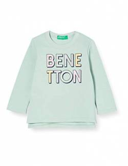 United Colors of Benetton (Z6ERJ) Mädchen Maglia G/C M/L Kapuzenpullover, Silt Green 37r, 98 cm von United Colors of Benetton (Z6ERJ)