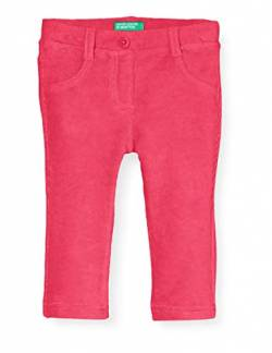 United Colors of Benetton (Z6ERJ) Mädchen Pantalone Hose, Fuchsia Purple 02a, 104 cm von United Colors of Benetton (Z6ERJ)