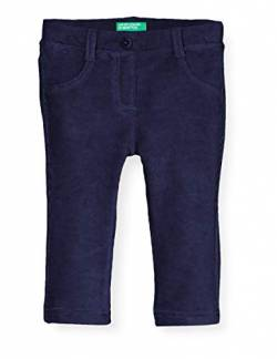 United Colors of Benetton (Z6ERJ) Mädchen Pantalone Hose, Peacoat 252, 104 cm von United Colors of Benetton (Z6ERJ)