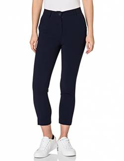 United Colors of Benetton Damen Pantalone 4XI655974 Hose, Blau 016, 44 von United Colors of Benetton
