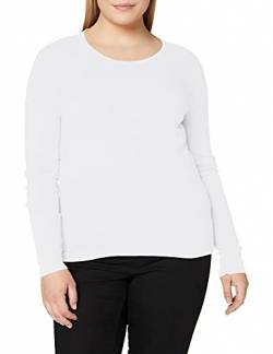 United Colors of Benetton Damen T-Shirt M/l Pullunder, Weiß (Bianco 101), Small von United Colors of Benetton
