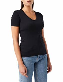 United Colors of Benetton Damen T-Shirt Pullunder, Schwarz (Nero 100), X-Small von United Colors of Benetton