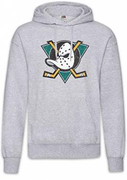 Urban Backwoods Ducks Hockey Hoodie Kapuzenpullover Sweatshirt Grau Größe XL von Urban Backwoods