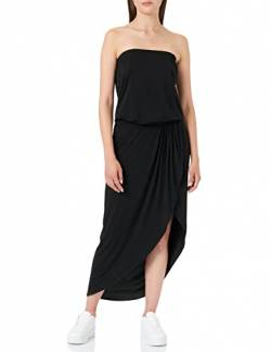 Urban Classics Damen Ladies Viscose Bandeau Dress Kleid, Black, XS von Urban Classics