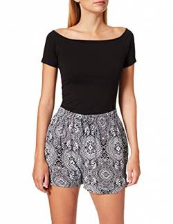 Urban Classics Damen Ladies AOP Kurze Hose Viscose Resort Shorts, Bandana, M von Urban Classics