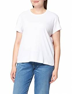 Urban Classics Damen Ladies Basic Box Tee T-Shirt, White, L von Urban Classics