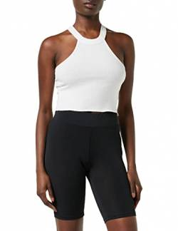 Urban Classics Damen Ladies Cycle Shorts, Schwarz (Black 00007), L von Urban Classics
