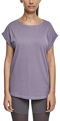 Urban Classics Damen Ladies Extended Shoulder Tee T-Shirt, dustypurple, M von Urban Classics