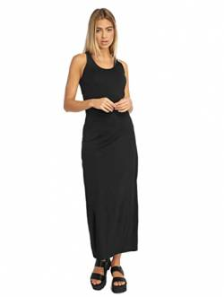 Urban Classics Damen Ladies Long Racer Back Dress Kleid, Black, XS von Urban Classics