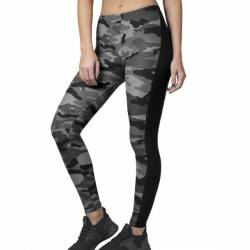 Urban Classics Ladies - CAMO Stripe Stretch-Fit Leggings von Urban Classics