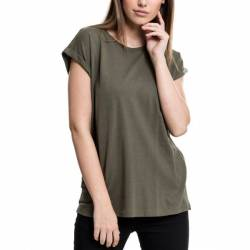 Urban Classics Ladies - EXTENDED SHOULDER Loose Shirt Top von Urban Classics