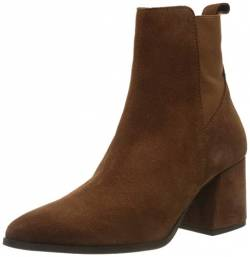 VERO MODA Womens VMJOY Leather Boot Stiefel, Emperador, 38 EU von VERO MODA