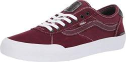 Vans Chima Pro 2 Port Royale/True White Herren Fashion Sneaker Schuhe, Rot (Port Royale/True White), 39.5 EU von Vans