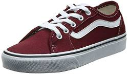 Vans Damen Filmore Decon Sneaker, Rot ((Canvas) Port Royale/True White Mc0), 35 EU von Vans