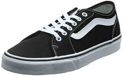 Vans Damen Filmore Decon Sneaker, Schwarz ((Canvas) Black/True White 1Wx), 36.5 EU von Vans